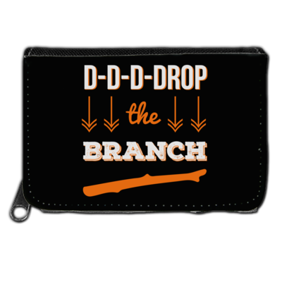 Motiv: Geldboerse - Drop the Branch