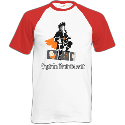 Motiv: Baseball-T FAIR WEAR - Captain Nadpfelsaft