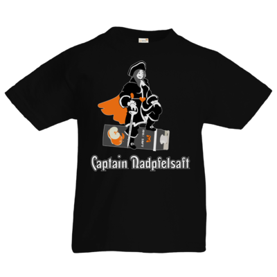 Motiv: Kids T-Shirt Premium FAIR WEAR - Captain Nadpfelsaft