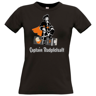 Motiv: T-Shirt Damen Premium FAIR WEAR - Captain Nadpfelsaft