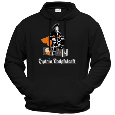Motiv: Hoodie Premium FAIR WEAR - Captain Nadpfelsaft