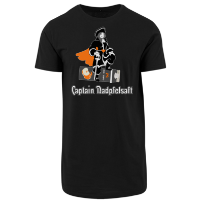 Motiv: Shaped Long Tee - Captain Nadpfelsaft