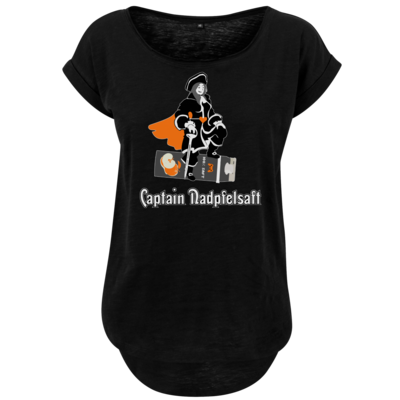 Motiv: Ladies Long Slub Tee - Captain Nadpfelsaft