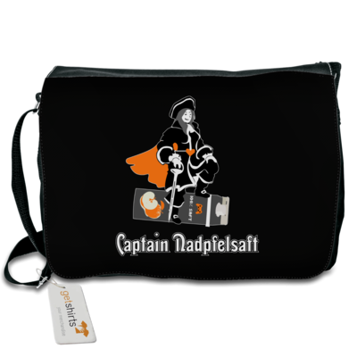 Motiv: Schultertasche - Captain Nadpfelsaft