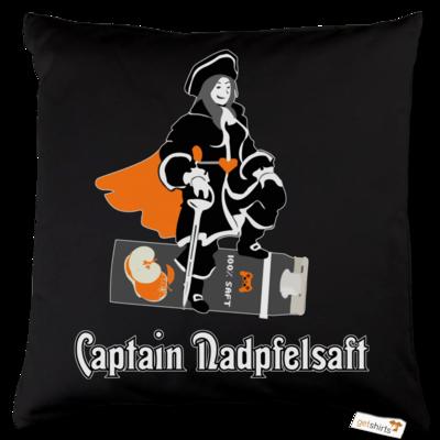 Motiv: Kissen Baumwolle - Captain Nadpfelsaft