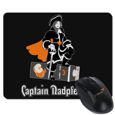 Motiv: Mousepad Textil - Captain Nadpfelsaft