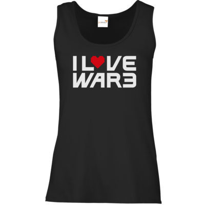 Motiv: Tank Top Damen Classic - Back2Warcraft - I love War3