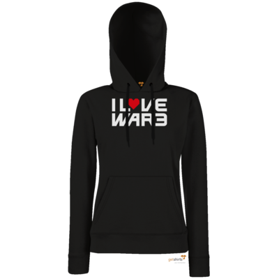 Motiv: Hoodie Damen Classic - Back2Warcraft - I love War3