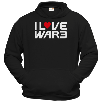 Motiv: Hoodie Classic - Back2Warcraft - I love War3