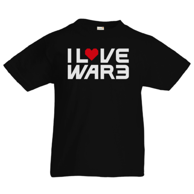 Motiv: Kids T-Shirt Premium FAIR WEAR - Back2Warcraft - I love War3