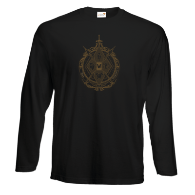 Motiv: Exact 190 Longsleeve FAIR WEAR - B2W Wappen Color