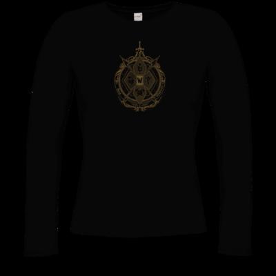 Motiv: Longsleeve Damen FAIR WEAR - B2W Wappen Color