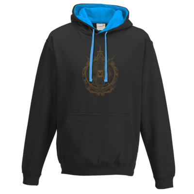 Motiv: Two-Tone Hoodie - B2W Wappen Color