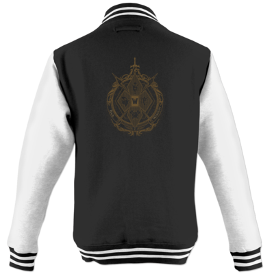 Motiv: College Jacke - B2W Wappen Color