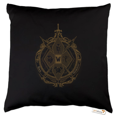 Motiv: Kissen Baumwolle - B2W Wappen Color