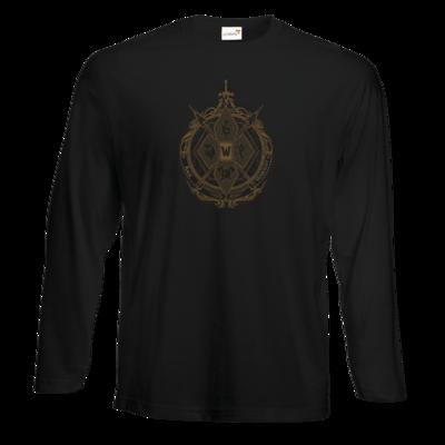 Motiv: Exact 190 Longsleeve FAIR WEAR - B2W Wappen Black