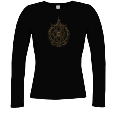 Motiv: Longsleeve Damen FAIR WEAR - B2W Wappen Black