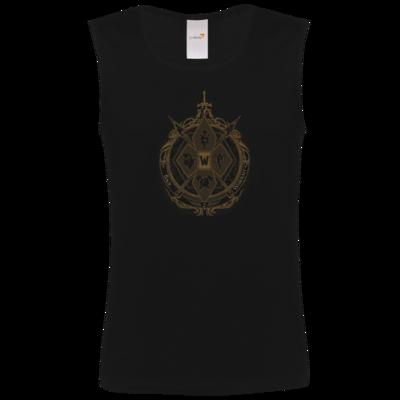 Motiv: Athletic Vest FAIR WEAR - B2W Wappen Black