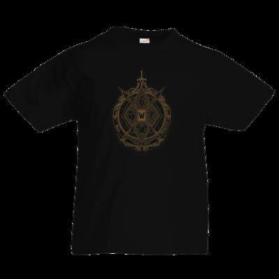 Motiv: Kids T-Shirt Premium FAIR WEAR - B2W Wappen Black