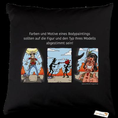 Motiv: Kissen Baumwolle - Airhard Indianer