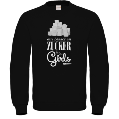 Motiv: Sweatshirt FAIR WEAR - Zucker für die Girls