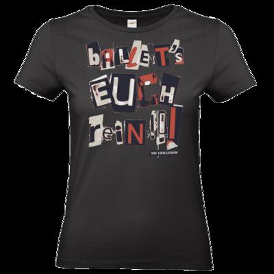 Motiv: T-Shirt Damen Premium FAIR WEAR - Grillshow Ballerts euch rein