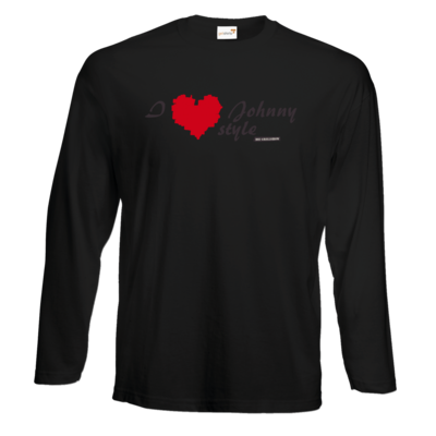 Motiv: Exact 190 Longsleeve FAIR WEAR - Grillshow I love Johnny style