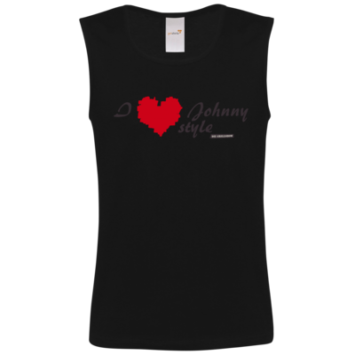 Motiv: Athletic Vest FAIR WEAR - Grillshow I love Johnny style