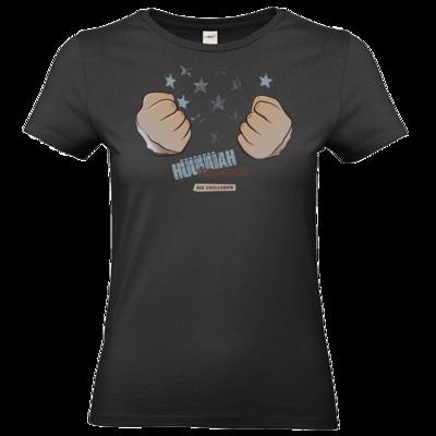 Motiv: T-Shirt Damen Premium FAIR WEAR - Grillshow Doppelfaust