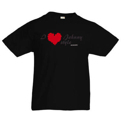 Motiv: Kids T-Shirt Premium FAIR WEAR - Grillshow I love Johnny style
