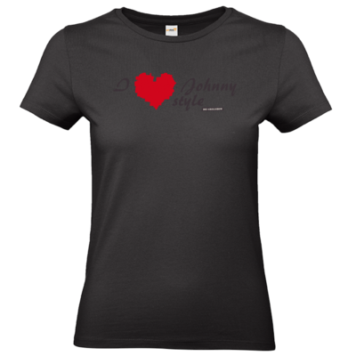 Motiv: T-Shirt Damen Premium FAIR WEAR - Grillshow I love Johnny style