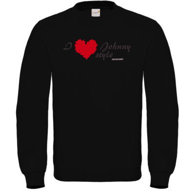 Motiv: Sweatshirt FAIR WEAR - Grillshow I love Johnny style