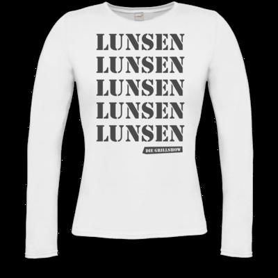 Motiv: Longsleeve Damen FAIR WEAR - Grillshow  Lunsen