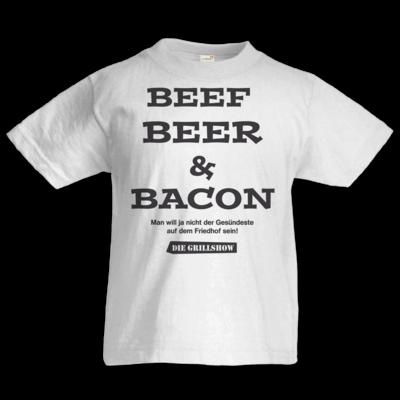 Motiv: Kids T-Shirt Premium FAIR WEAR - Grillshow nicht der Gesuendeste