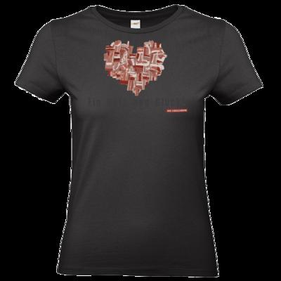 Motiv: T-Shirt Damen Premium FAIR WEAR - Grillshow Netz aus Glueck