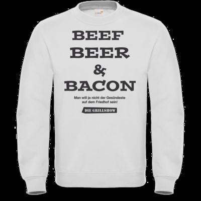 Motiv: Sweatshirt FAIR WEAR - Grillshow nicht der Gesuendeste