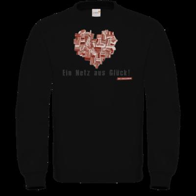 Motiv: Sweatshirt FAIR WEAR - Grillshow Netz aus Glueck
