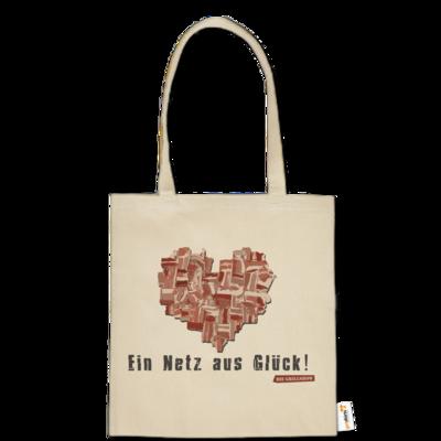 Motiv: Baumwolltasche - Grillshow Netz aus Glueck