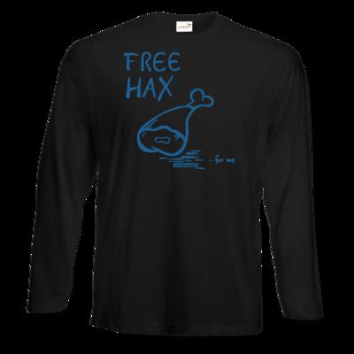 Motiv: Exact 190 Longsleeve FAIR WEAR - Free Hax blau