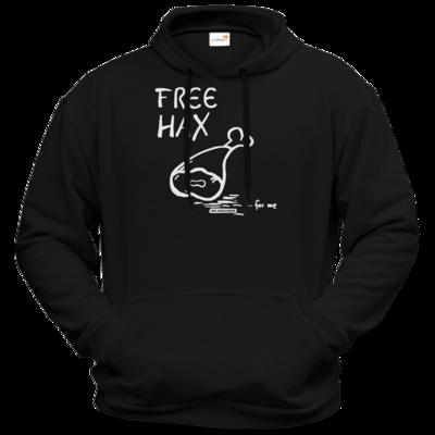 Motiv: Hoodie Premium FAIR WEAR - Free Hax weiss