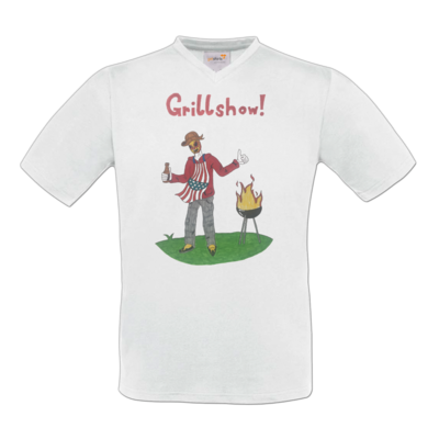 Motiv: T-Shirt V-Neck FAIR WEAR - Grillshow!