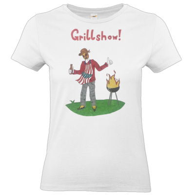 Motiv: T-Shirt Damen Premium FAIR WEAR - Grillshow!
