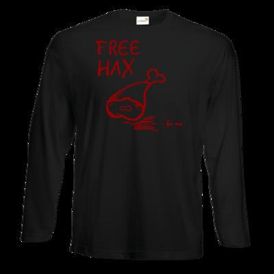 Motiv: Exact 190 Longsleeve FAIR WEAR - Free Hax rot
