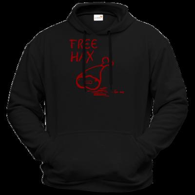 Motiv: Hoodie Premium FAIR WEAR - Free Hax rot