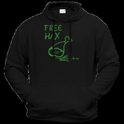 Motiv: Hoodie Premium FAIR WEAR - Free Hax gruen