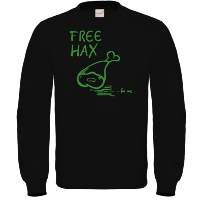 Motiv: Sweatshirt FAIR WEAR - Free Hax gruen