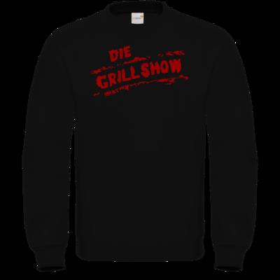 Motiv: Sweatshirt FAIR WEAR - Die Grillshow - Logo rot
