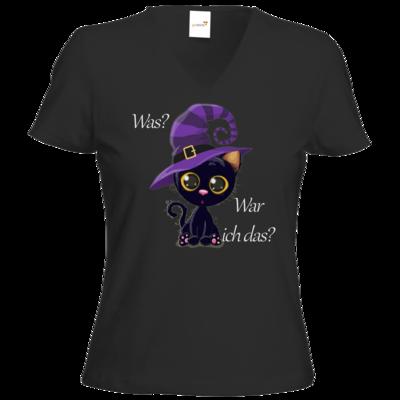 Motiv: T-Shirts Damen V-Neck FAIR WEAR - Winnie