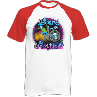 Motiv: Baseball-T FAIR WEAR - SandcoolTV - Crazytrain