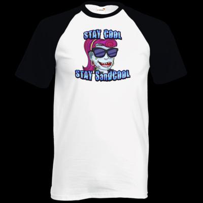 Motiv: TShirt Baseball - SandcoolTV - Stay Cool